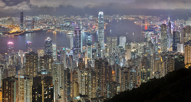 Featured Image is the Hong Kong skyline...   from Wikipedia  A city I've been fascinated with for a long time,  for obvious reasons.